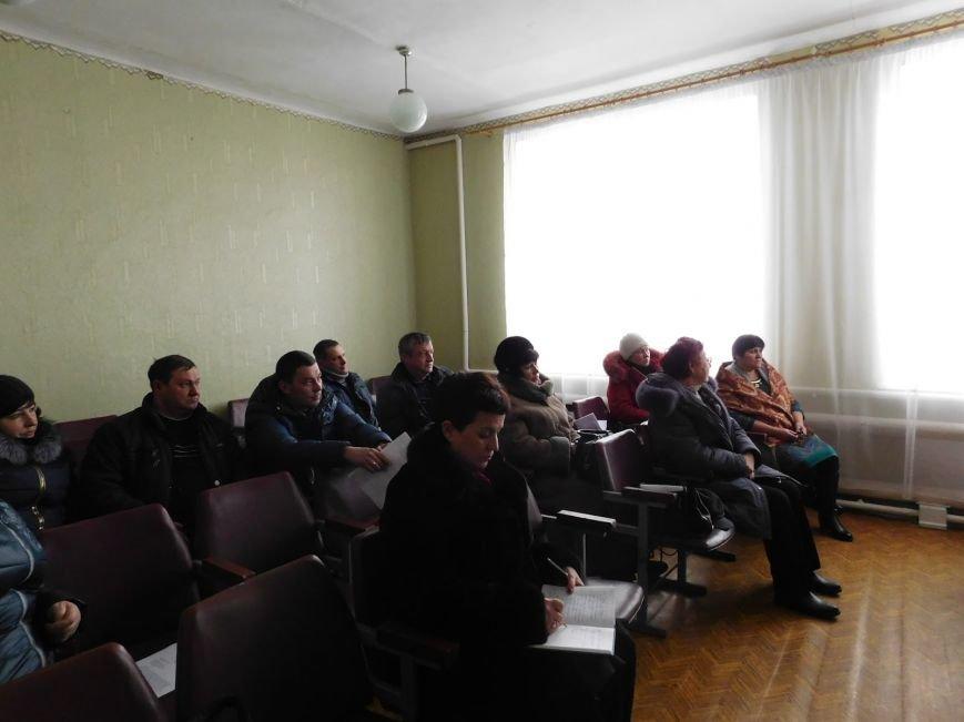 Очередная сессия Добропольского сельского совета (фото) - фото 1
