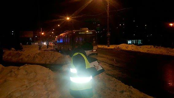 В Николаеве пьяного пешехода переехал троллейбус (ФОТО) (фото) - фото 1
