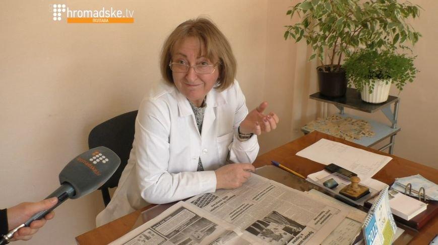Працівниця Тернопільської університетської лікарні