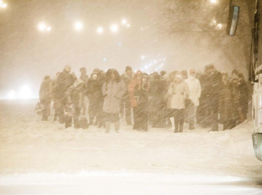 снег_толпа