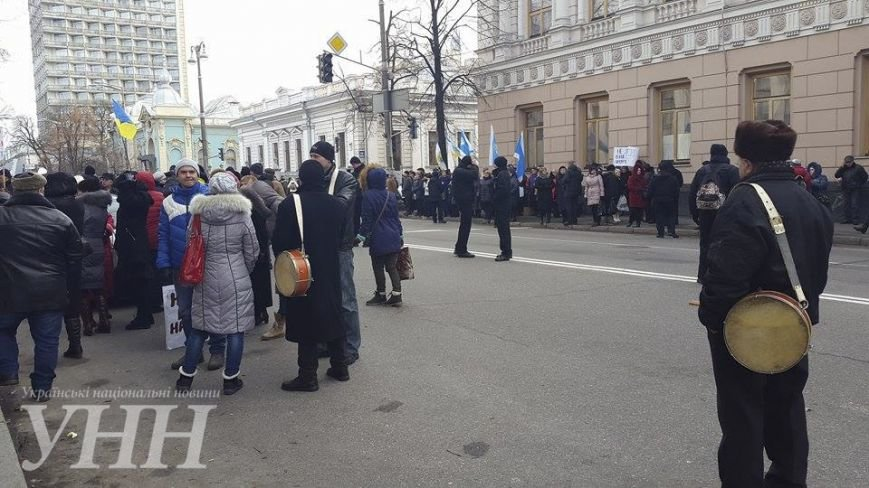 В Киеве митингующие разблокировали Грушевского, - СМИ (ФОТО) (фото) - фото 1