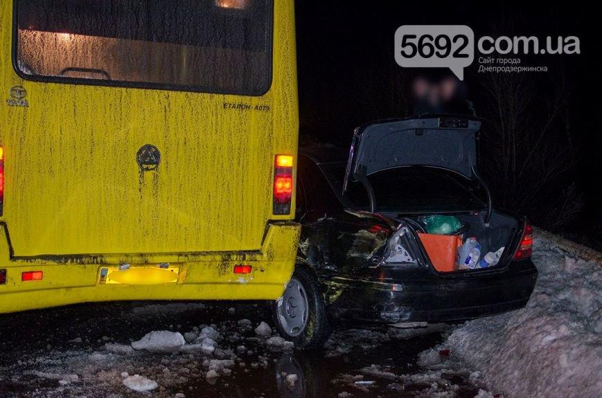 Массовое ДТП в Днепродзержинске: на левобережном мосту столкнулись 6 легковых авто и маршрутка (фото) - фото 2
