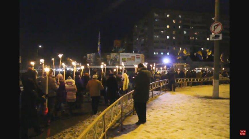 Пам'ять про Героїв Крут:  смолоскипна хода у Білій Церкві (фото) (фото) - фото 4