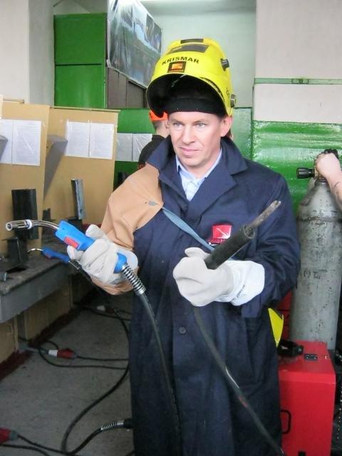 Кременчугских сварщиков будут обучать польские инструкторы на польских полуавтоматах (ФОТО), фото-4