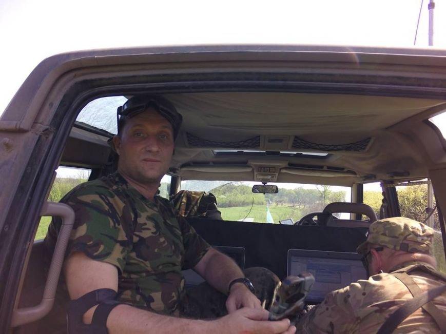 """Неофициальный рупор войны: харьковский """"блоггер"""" на передовой, фото-1"""
