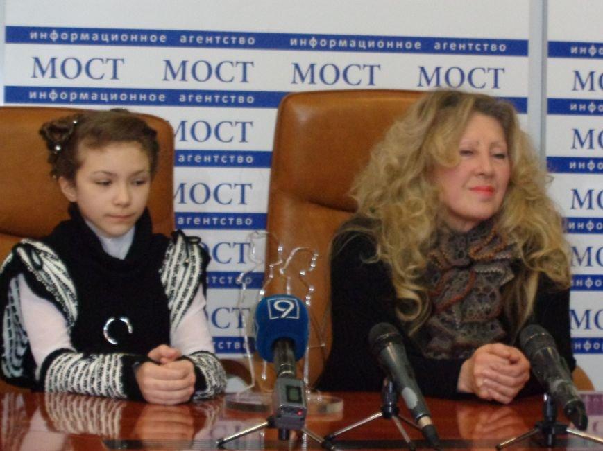 Днепропетровская школьница выиграла в талант-шоу