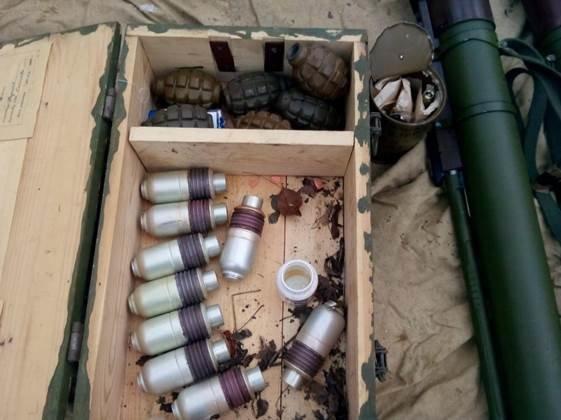 В Донецкой области нашли огромный склад с оружием (ФОТО) (фото) - фото 1