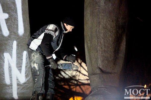 В Днепропетровске снесли памятник Петровскому (фото) - фото 2