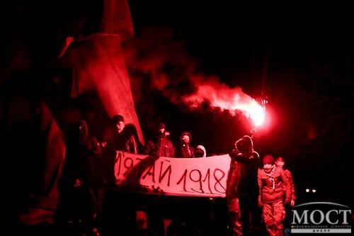 В Днепропетровске снесли памятник Петровскому (фото) - фото 1