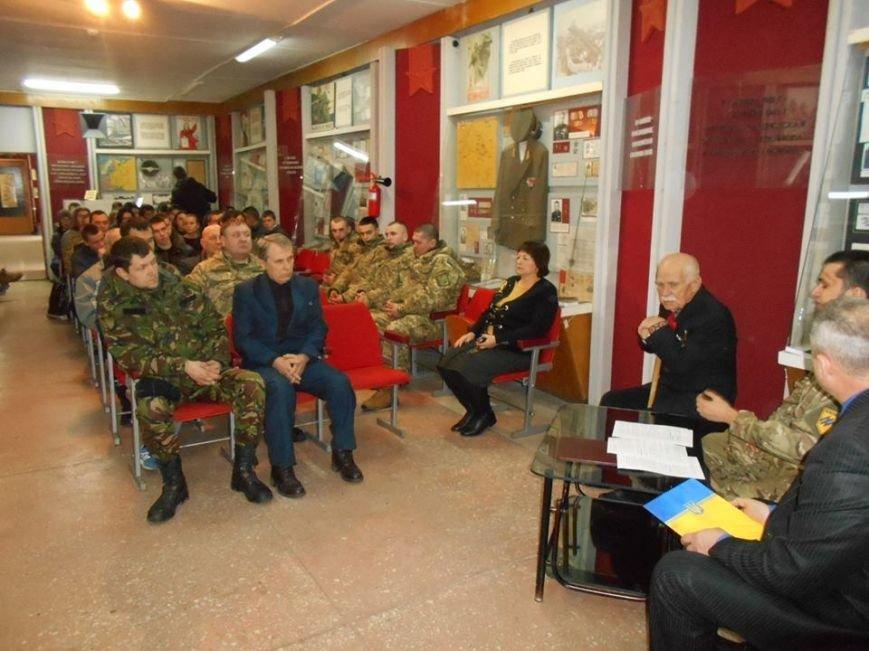 В Бердянском краеведческом музее  почтили память Героев Крут (фото) - фото 6