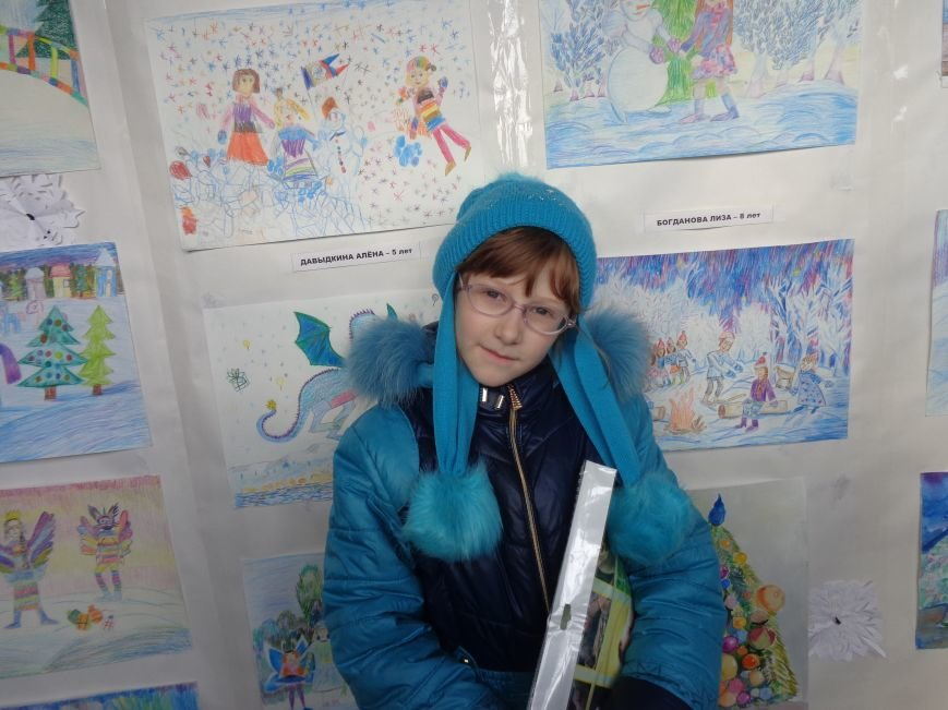 В Алупке подвели итоги конкурса карандашного рисунка «Зимняя сказка» (фото) - фото 1