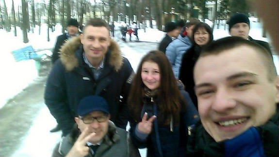К Кернесу в гости приехал Кличко: мэры прогулялись по Харькову (ФОТОФАКТ), фото-1