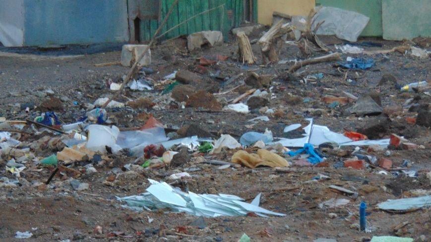 В центре Мариуполя открылась новая свалка (ФОТОФАКТ) (фото) - фото 1