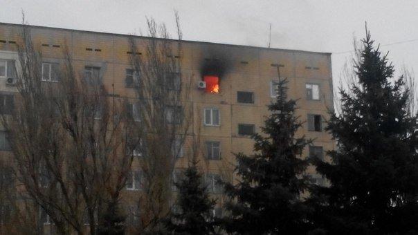 В Днепродзержинске горела квартира, сарай и еда (фото) - фото 2