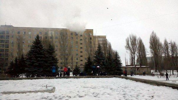 В Днепродзержинске горела квартира, сарай и еда (фото) - фото 1