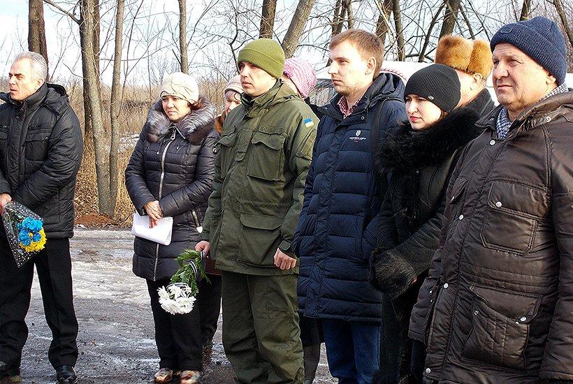 Бойцы Нацгвардии почтили память героев Крут в Славянском районе (фото) - фото 3
