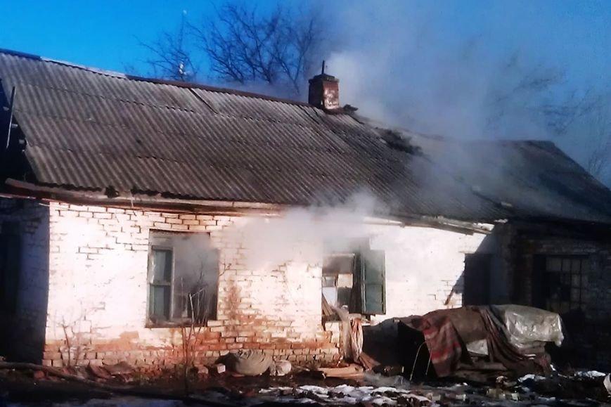 В Днепропетровской области сотрудники ГСЧС укротили пожар и спасли пенсионерку (ФОТО), фото-2