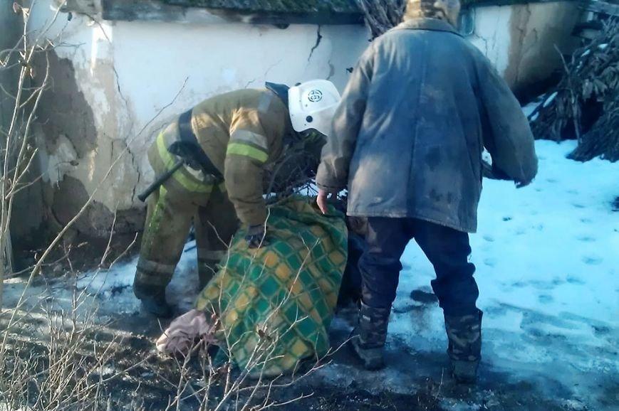 В Днепропетровской области при пожаре была спасена жизнь пенсионерки (ФОТО) (фото) - фото 1