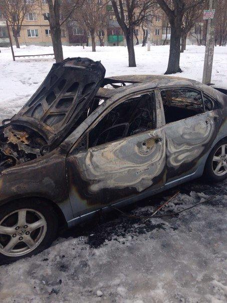 Ночью в Харькове сгорела иномарка иностранца (ФОТО) (фото) - фото 2