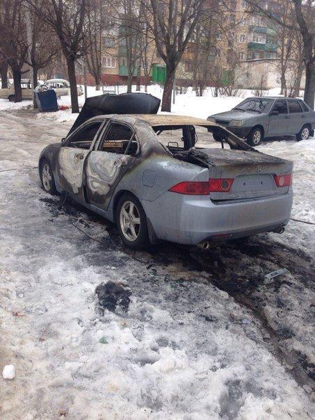 Ночью в Харькове сгорела иномарка иностранца (ФОТО) (фото) - фото 3