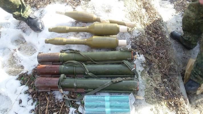 В Луганской области обнаружен очередной тайник с военными  средствами пораженя (Фото) (фото) - фото 2