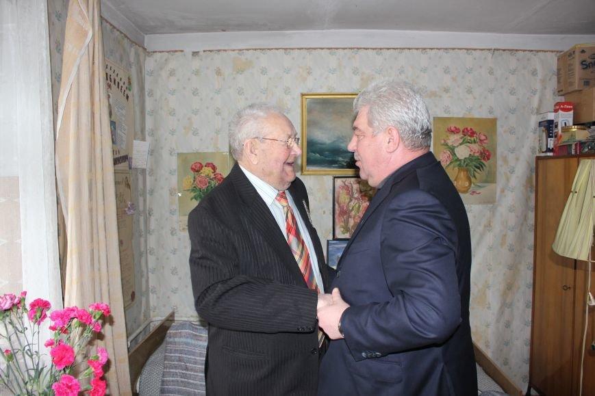 Сегодня отметил свой 95-летний юбилей Николай Самуилович Вольвач, фото-1
