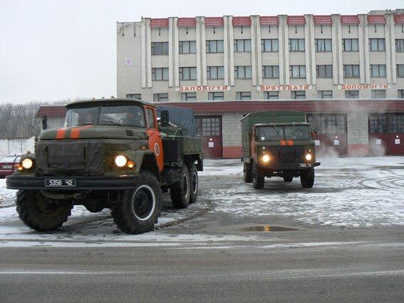 Хмельницькі рятувальники відправились в зону АТО (Фото) (фото) - фото 2