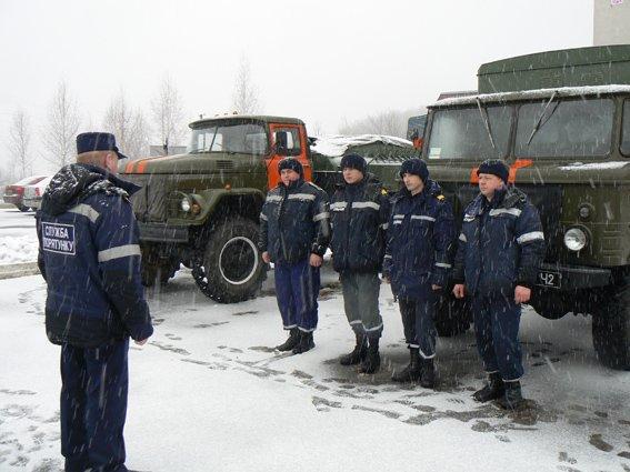 Хмельницькі рятувальники відправились в зону АТО (Фото) (фото) - фото 1