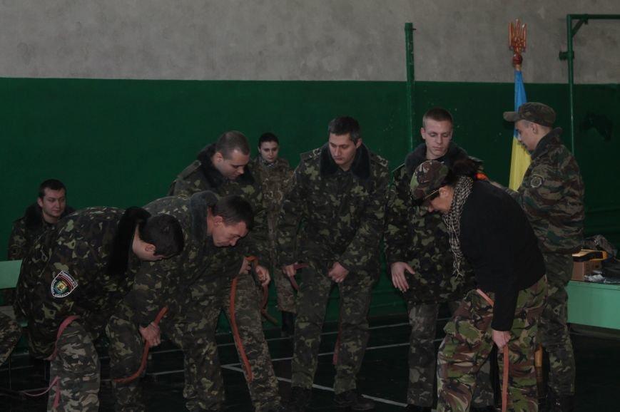 Военные ВСУ и Нацгвардии наглядно показали как себя вести в непредвиденных ситуациях, фото-6