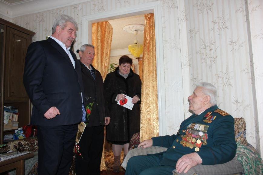 Артемовские участники Сталинградской битвы приняли поздравления с 73-летней годовщиной окончания сражения, фото-7