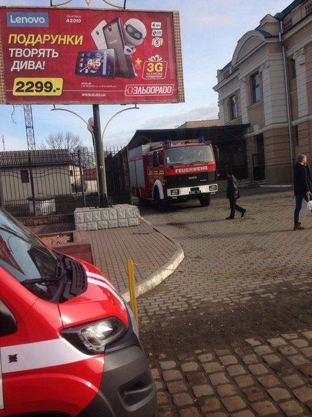 Франківський вокзал знову замінували (ФОТО) (фото) - фото 1