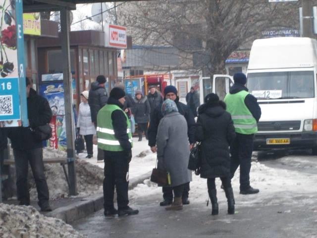 67c8c1ba5b03c523b919b34f9df094cc В Николаеве разогнали нелегальных одесских перевозчиков
