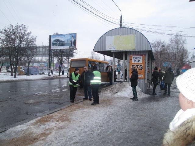 dba746a52463e1afe2c94f8f038a2515 В Николаеве разогнали нелегальных одесских перевозчиков