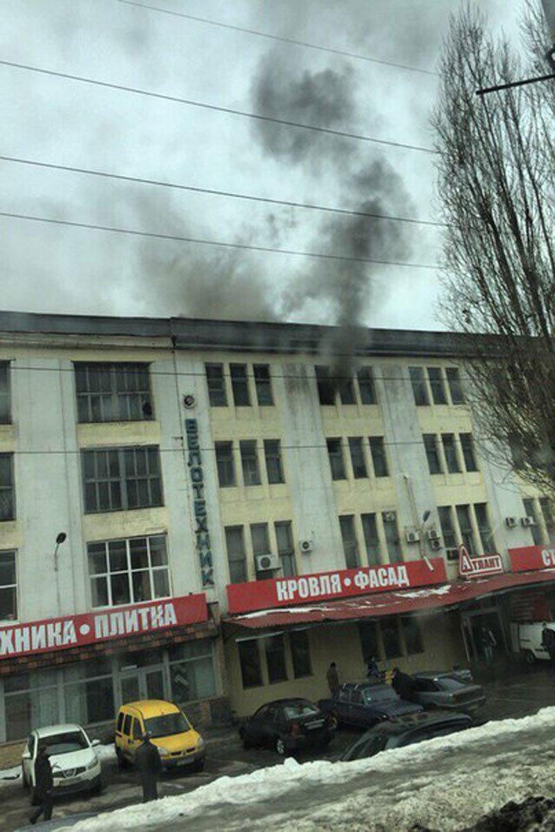 В Харькове на Московском проспекте горел дом (фото) - фото 1