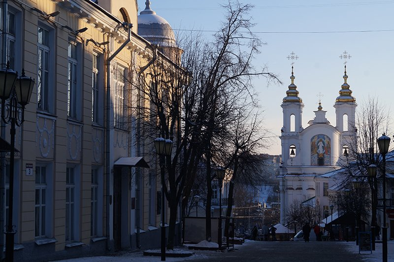 Белорусские каникулы. Прогулка из Белгорода к Марку Шагалу (фото) - фото 1