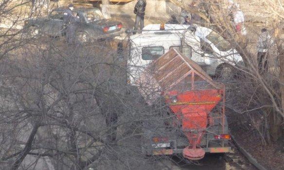 В Киеве представители застройщика избили митингующих активистов (ФОТО) (фото) - фото 1