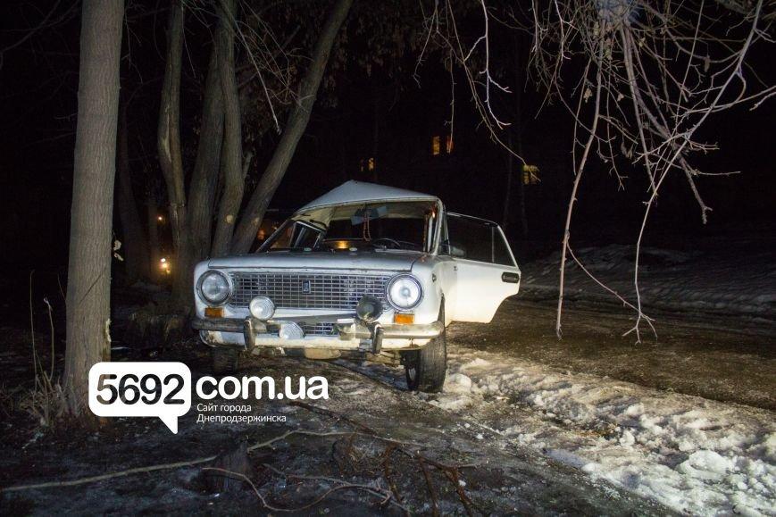 ДТП в Днепродзержинске: автомобиль врезался в дерево (фото) - фото 2