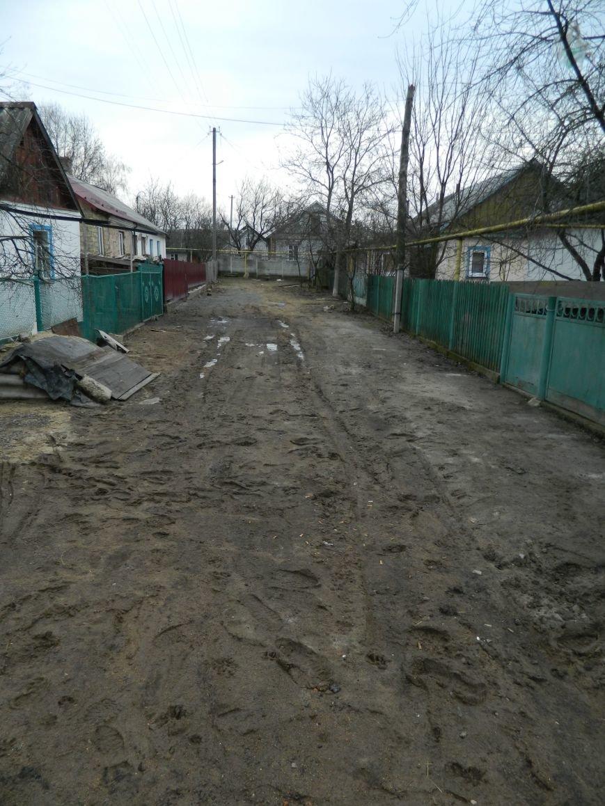 По улице Мичурина в Новограде