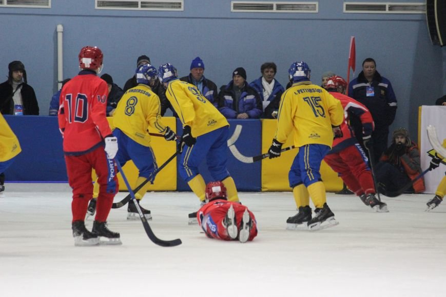 Российская команда проиграла шведской на мировом хоккейном чемпионате, фото-13