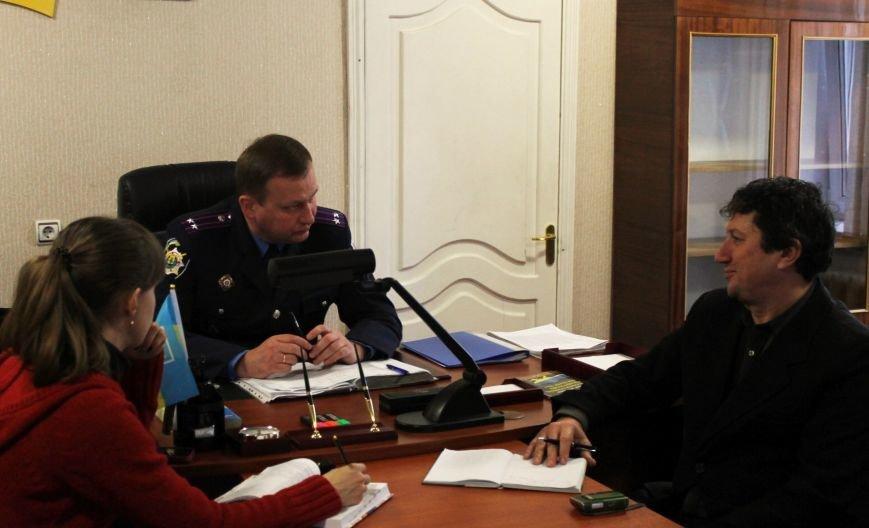 Новый начальник добропольского отделения полиции делится комментариями (фото) - фото 1