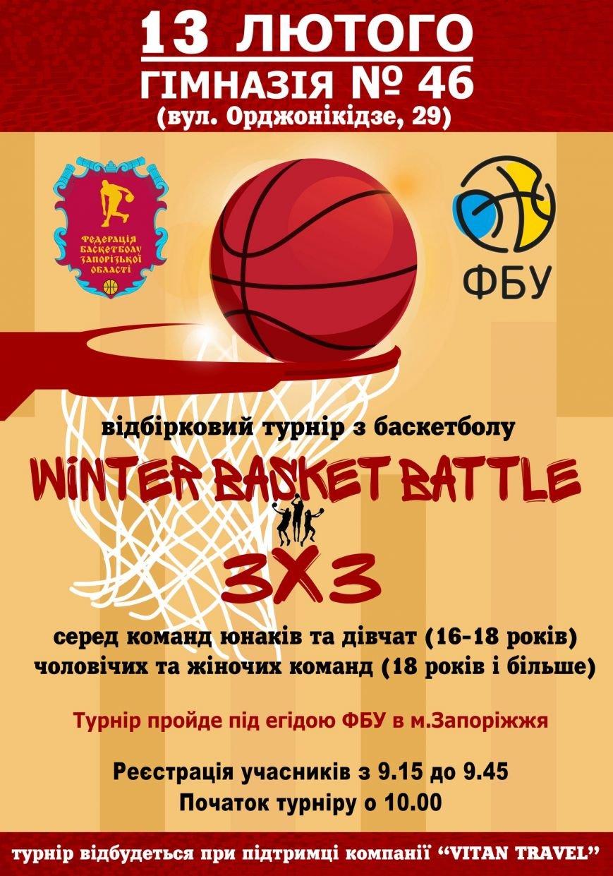 Запорожских любителей баскетбола приглашают на отбор в сборную Украины (фото) - фото 1