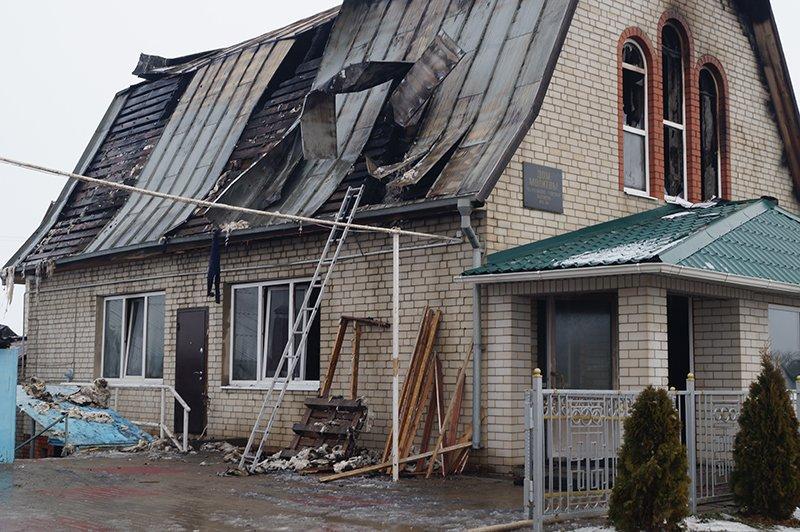 В Стрелецком сгорел баптистский дом молитвы (фото) - фото 3
