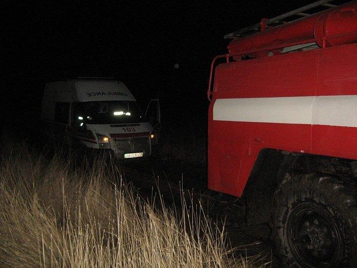 Героическое спасение медиков и скорой помощи произошло в Луганской области (ФОТО) (фото) - фото 1