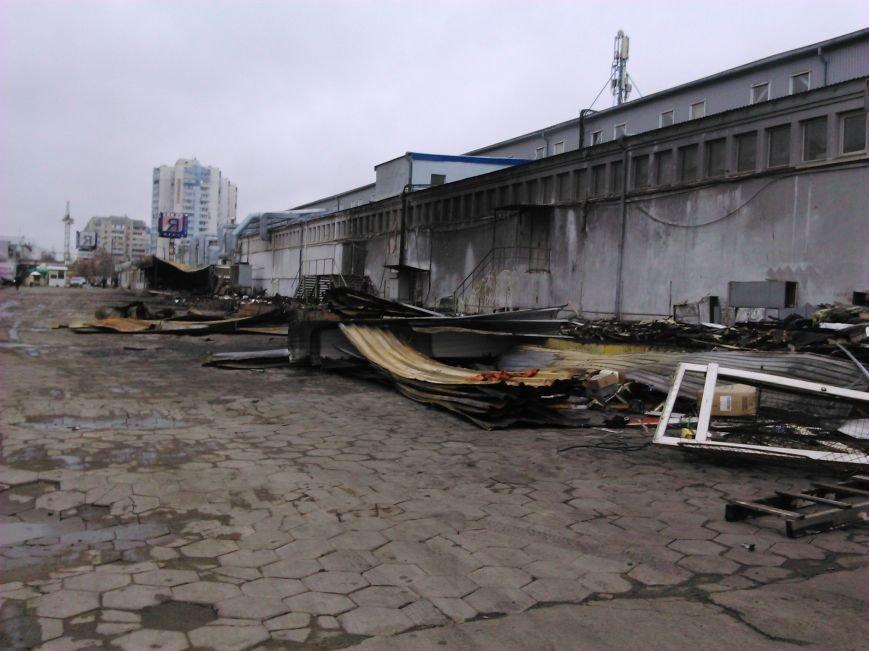 0afde7bf72d37c06d3b2f3ea65d963b4 Сгоревший на Котовского в Одессе рынок начали восстанавливать