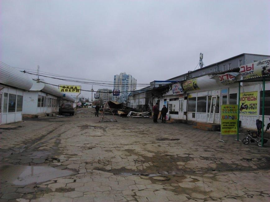17bddfc89ce0151ff0f5efecd779f026 Сгоревший на Котовского в Одессе рынок начали восстанавливать