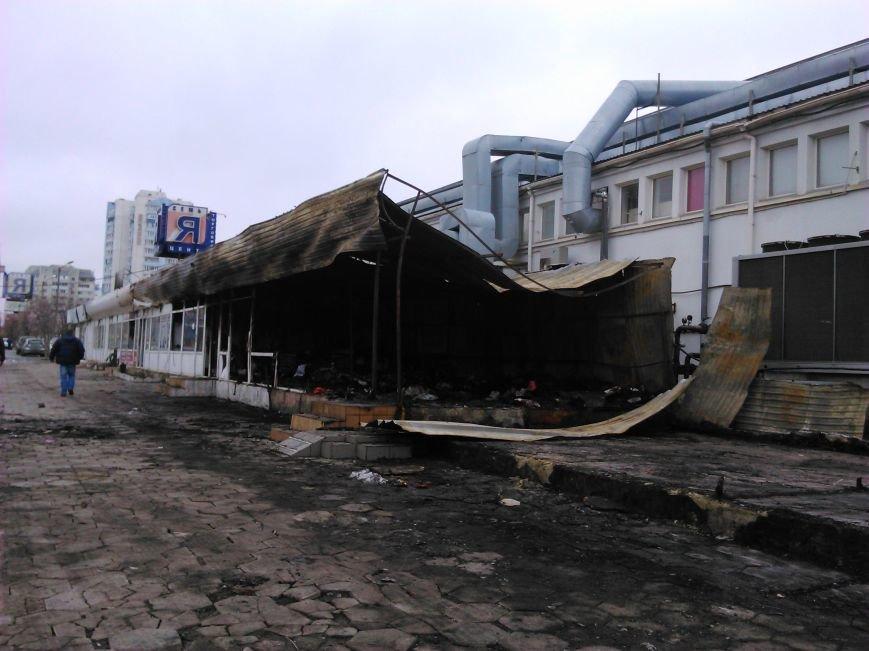 813148f17e800ad2a205a5101bd059ea Сгоревший на Котовского в Одессе рынок начали восстанавливать