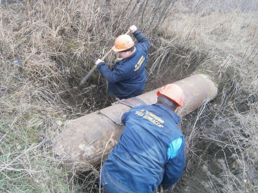 Работники Добропольского ПУВКХ устранили 10 порывов и 20 заторов за неделю (фото) - фото 1