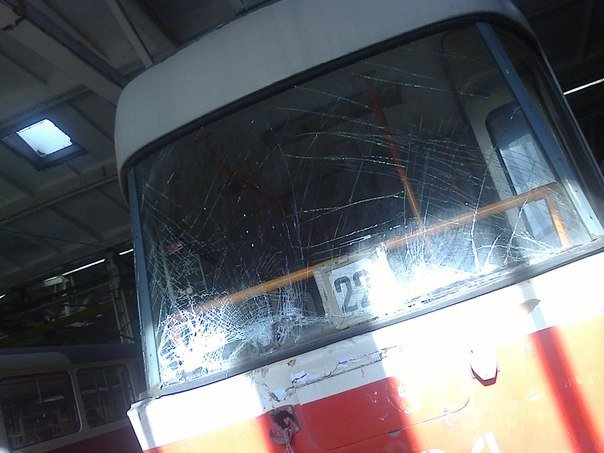На Воскресенке столкнулись два трамвая (ФОТО), фото-2