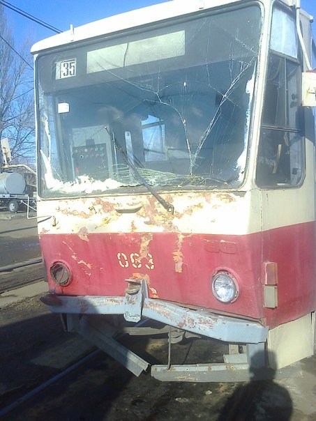 На Воскресенке столкнулись два трамвая (ФОТО) (фото) - фото 4