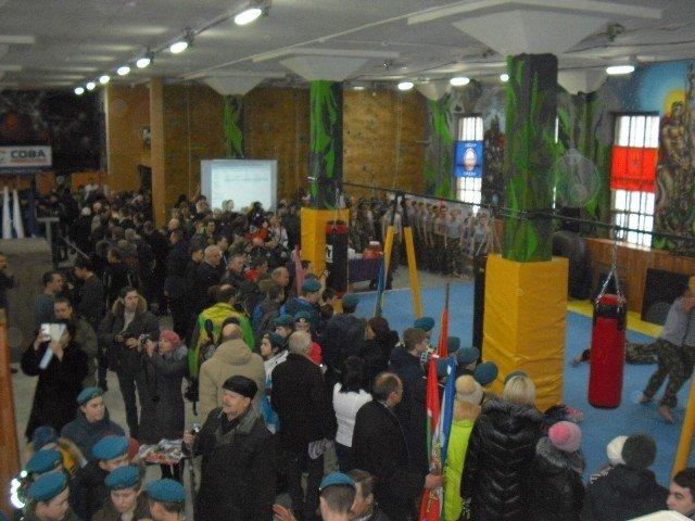 Кадеты Полевского смогут тренироваться в новом областном военно-спортивном центре